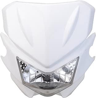 GOOFIT Motorcycle Dirt Bike Universal Headlights Fairing Light Headlamp For KX125 KX250 KXF250 KXF450 KLX200 KLX250 KLX450 White