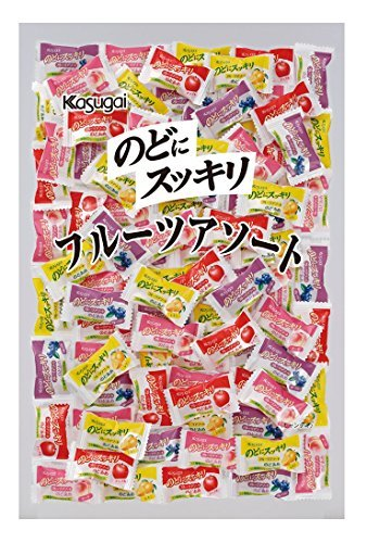 のどにスッキリフルーツアソート 1kg /春日井製菓(2袋)