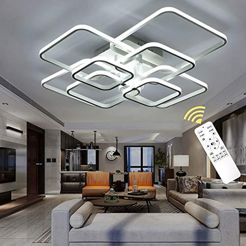 LED Lámpara de techo moderna,LED Iluminación de techo Baño Cocina Dormitorio Balcón Corredor Oficina Comedor Sala de Estar,Iluminación colgante (Dimming, 8 Head)
