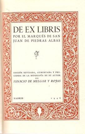 DE EX LIBRIS.