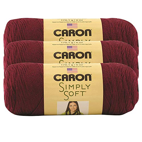 1 Caron Simply Soft Speckle-Pack of 6 Balls-141g Each Balls-Seashell