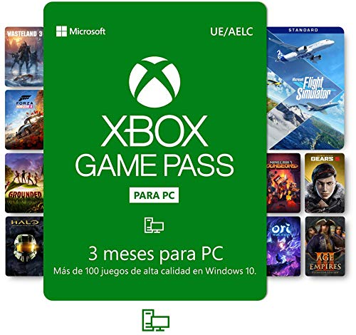 Suscripción Xbox Game Pass para PC - 3 Meses | Windows 10 P