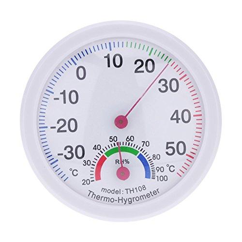 KKmoon -35~55 ° C Mini Innen Analog Temperatur und Feuchtigkeit Meter Temperaturmesser Feuchtigkeitsmessgerät Thermometer Hygrometer