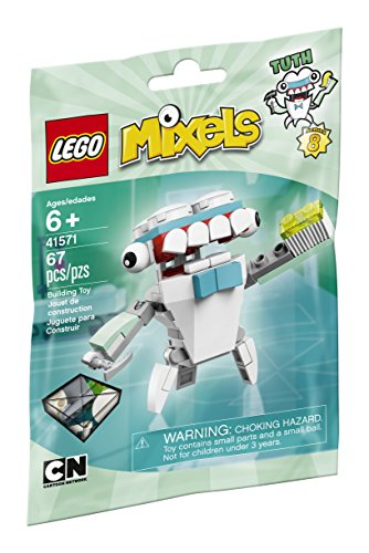 LEGO Mixels 41571 Tuth Building Kit by Mixels