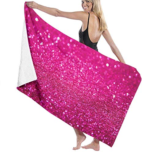WKLNM Glitter badhanddoek Beach Spa douche badpak zacht licht comfortabele droogt snel