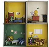 from The House of PlayWay , a DIY 4 Room Modular Dollhouse, Made Out of Light Soft Wood , with Furniture and Artishs' Friends
