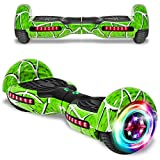 CHO POWER SPORTS 2020 Electric Hoverboard UL Certified Hover Board Electric Scooter with Built in Speaker Smart Self Balancing Wheels (Green)