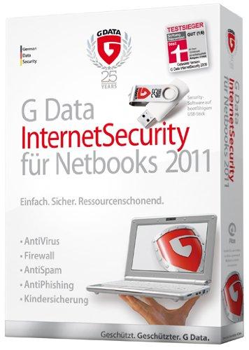 G Data InternetSecurity 2011 für Netbooks