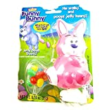 Funny Bunny Wind-up Jelly Bean Pooping Easter Bunny Candy Dispenser (Pink)