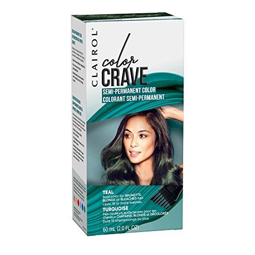 Clairol Color Crave Semi-permanent Hair Color, Teal
