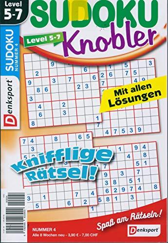 Denksport Sudoku Knobler 4/2019