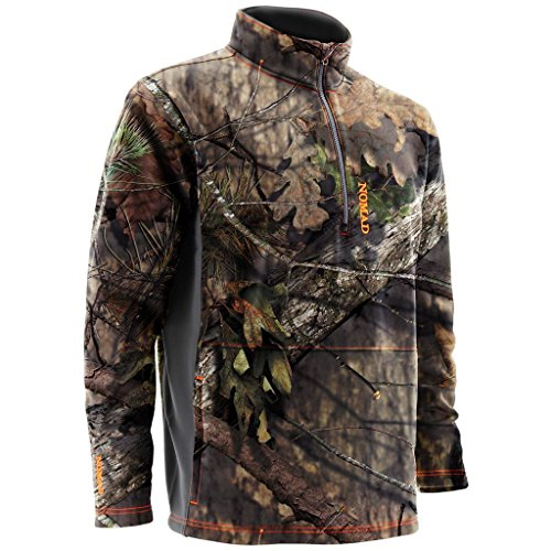 Nomad Herren Southbounder Camo 1/4 Zip Fleece 3XL Mossy Oak Break-up Country