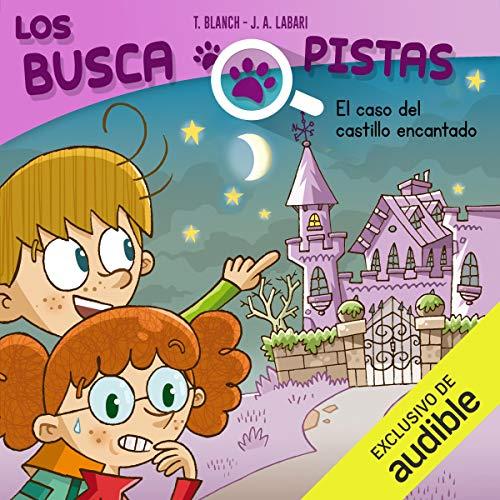 Diseño de la portada del título Buscapistas: El Caso Del Castillo Encantado (Narración en Castellano)