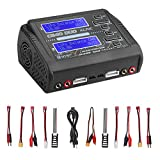 Best Lipo Battery Chargers - LiPo Charger Discharger Dual AC150W DC240W 10A C240 Review