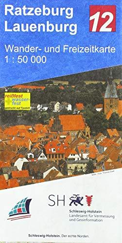 Ratzeburg - Lauenburg 1 : 50 000: Wander- und Freizeitkarte