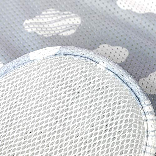 Agibaby 3D Mesh Stroller Liner Infant/Baby   Cushion  Pad  Seat Insert for Carseat (Cloud- Baby Size)