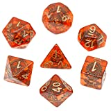 Steampunk Gear DND Dice Set for Dungeons and Dragons Gifts, D&D, D and D, Pathfinder, Accessories, D20, Polyhedral, Resin Dice, Metal, Dice Tray, Tower, Bag, Box
