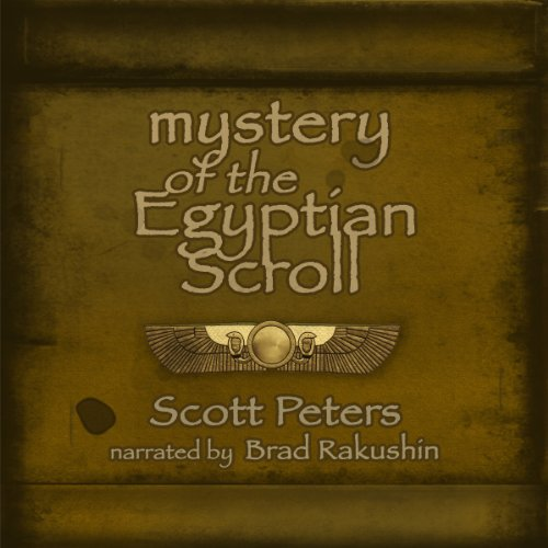 Mystery of the Egyptian Scroll audiobook cover art