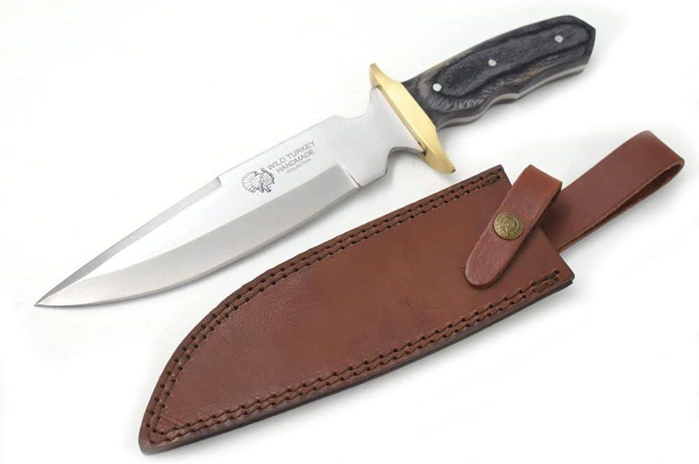"Wild Turkey Handmade 13"" Oklahoma City Mall Classic Wood Stainless Ranking TOP11 Handle Stee"