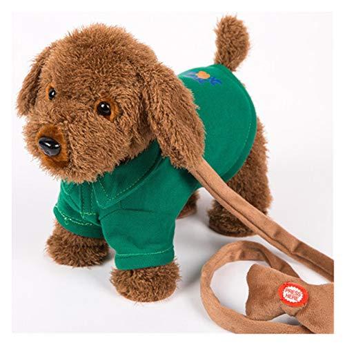 fleeting time GaoHR Robot Dog Control de Sonido Perro Interactivo Perro Electrónico Mascotas Puppy Puppy Walk 120 Canciones Talk Teddy Toys para Niños Regalos de Cumpleaños (Color : Dog P)
