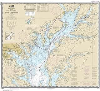 Synthetic Media NOAA Chart 12273: Chesapeake Bay Sandy Point to Susquehanna River
