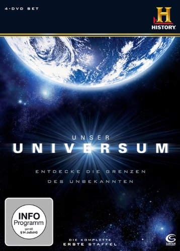 Unser Universum/Geheimnisse des Universums - Staffel 1 (4 DVDs)