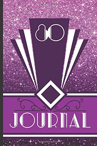 80 Journal: Record and Journal Your 80th Birthday Year to Create a Lasting Memory Keepsake (Purple Art Deco Birthday Journals, Band 80)