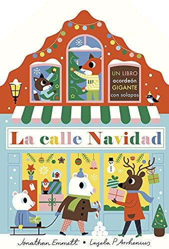 La calle Navidad. Libro acordeón (Libros con elementos para jugar)