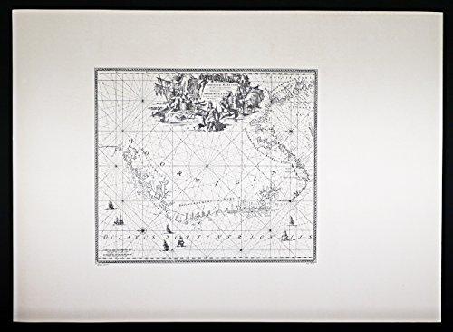 Edizioni Ponte Vecchio Maritieme zeekaart Oude Kaart Noorwegen 813/6 Renard 50,5 x 70 cm Edities Ponte Vecchio Brug