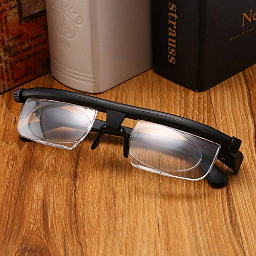 COLIBROX Adjustable Glasses Variable Focus For Reading Distance Vision Eyeglasses