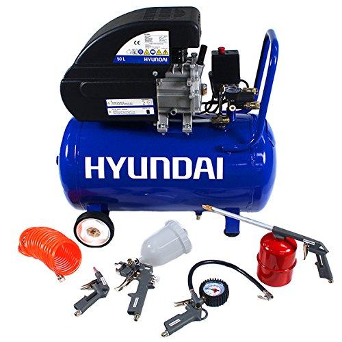 Hyundai hy2550CV Direct Drive 115PSI 24Compresseur d'air Inc. 5sans air Outil Kit