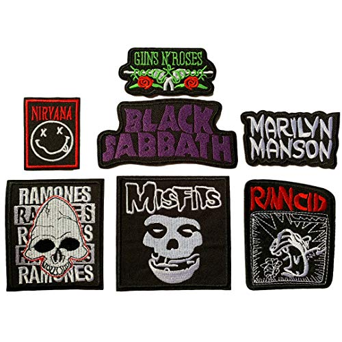 Set Patch of Iron on Patches #6, He…