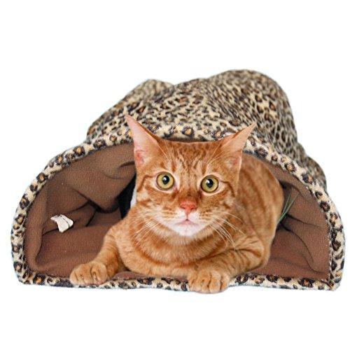 OMEM (pak van 2) Kat Slaapzak Draagbare Rest Bed Wasbaar, Geschikt voor Buiten