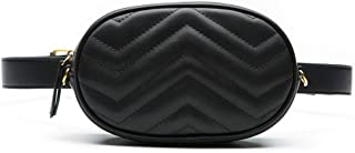 Best chevron quilted belt bag Reviews