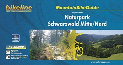 Mountainbikeguide Naturpark Schwarzwald Mitte/Nord, 1:35 000, wetterfest/reißfest