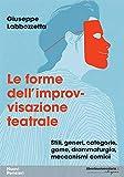 Le forme dell'improvvisazione teatrale. Stili, generi, categorie, game, drammaturgia, meccanismi comici