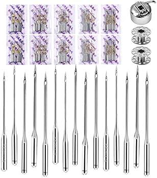 100-Pieces Dalaran Sewing Machine Needles