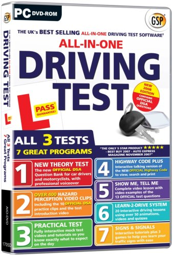 All In One Driving Test 2007 Edition (PC DVD)