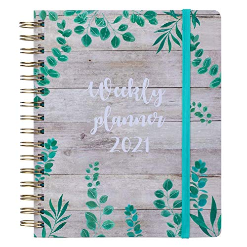 ZGHYBD 2020-2021 Diary - Academic Weekly & Monthly A5 Diary Planner Weekly & Monthly Diary With Tabs Very Suitable For Friends 2#