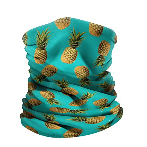 WIRESTER Bandana, Headwear, Scarf for Running, Cycling, Fishing, Sports Indoor Outdoor Fashionable Wear Paradise Pineapples