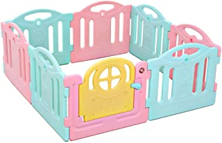 Relaxbx Baby Fence Portable Children S Play Fence Indoor Home Baby Baby Safety Fence Fence Crawling Mat Toddler Playground