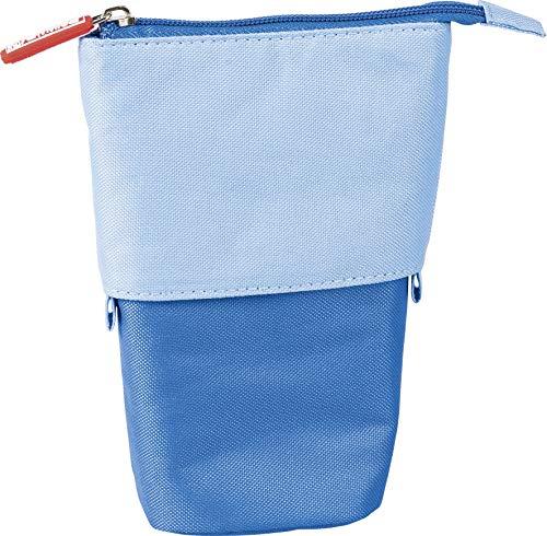 Brunnen 104903030 Etui und Stiftköcher 18 x 8 cm, Gestülpt 12 cm blau