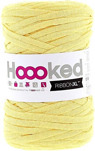 Hoooked, Textilgarn, Mattgelb, 120m