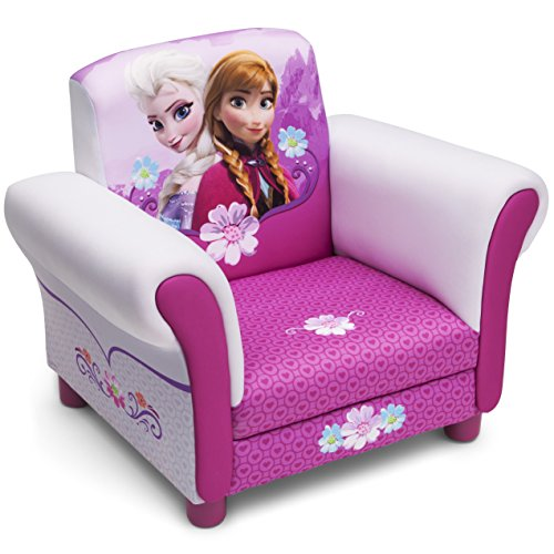 Delta Children - UP85812FZ - La Reine des Neiges - Fauteuil Rembourré - Rose