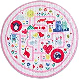 Winthome Baby Play Mat Round, Non-Slip Gym Play Mat Toy Storage - Washable