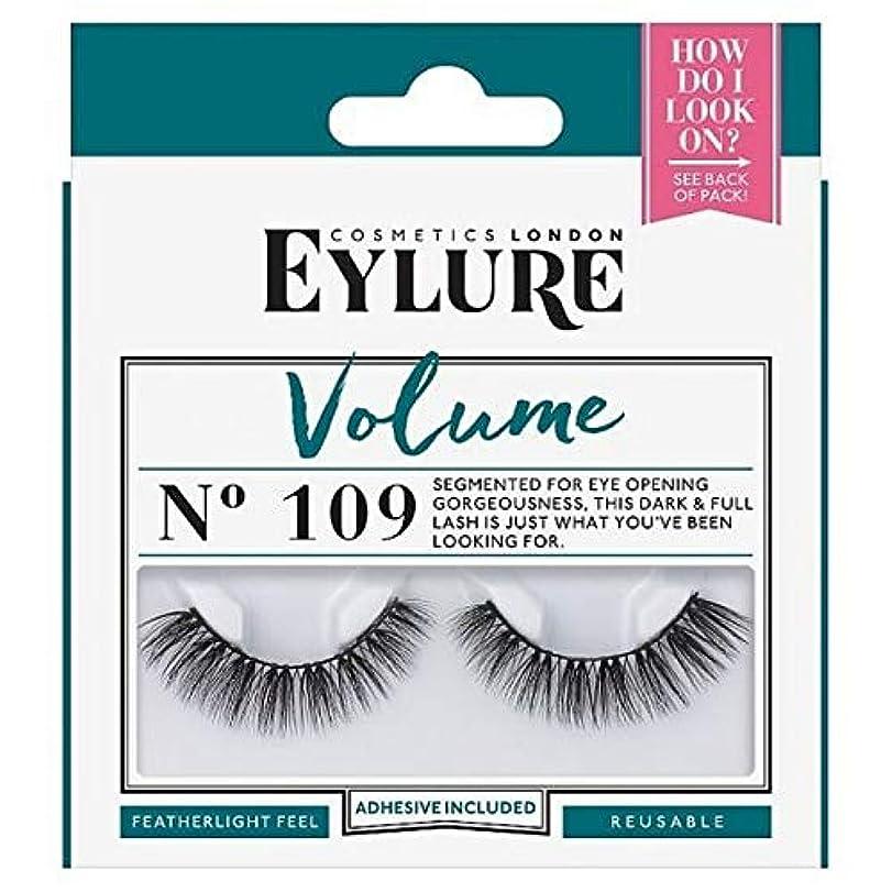 粘性の奇妙な読み書きのできない[Eylure] Eylureストリップまつげ - No.109のボリューム - Eylure Strip Lashes - No.109 Volume [並行輸入品]