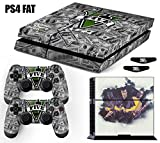 Skin PS4 Fat GTA 5 Grand Theft Auto V - Dólares