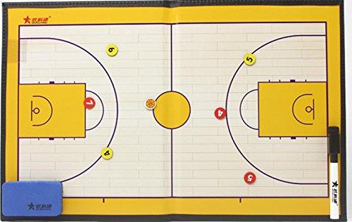Bordo di tattiche di gara formazione basket allenatore Basket lavagna magnetica