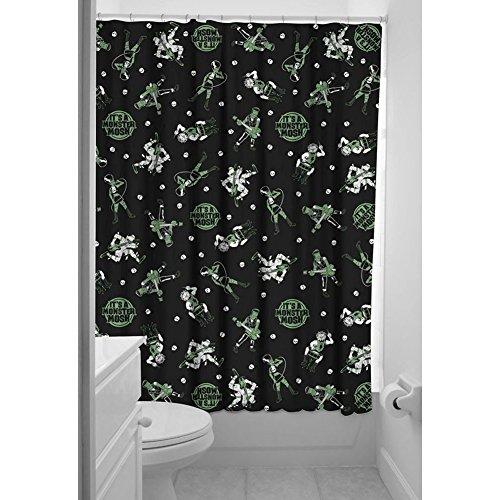 Sourpuss Duschvorhang Monster Mosh Dusche Vorhang schwarz