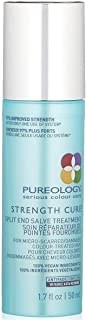 Pureology | Strength Cure Split End Salve Hair Treatment | For Damaged, Color Treated Hair | Vegan
